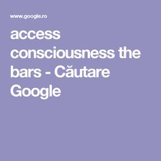 access consciousness the bars - Căutare Google