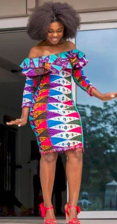 The right picture collection of 2018 latest ankara styles for ladies. Every woman deserves to rock the latest ankara styles of 2018 Ankara Dress Styles, Ankara Gowns, African Print Dresses, African Fashion Dresses, African Dress, Ankara Fashion, Ankara Blouse, Ankara Skirt, African Attire