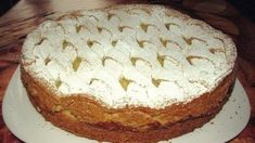 Jablková torta so smotanou - Mňamky-Recepty. Russian Desserts, Russian Recipes, Pie Recipes, Sweet Recipes, Cooking Recipes, Good Food, Yummy Food, Delicious Recipes, Fruit Pie
