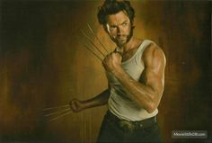 X-Men Origins: Wolverine - Promo shot of Hugh Jackman Hugh Wolverine, Wolverine Movie, X Men, Hugh Jackman Images, Amor Humor, Hugh Michael Jackman, Actrices Sexy, Man Movies, Star Wars