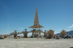 Beautiful, Impermanent Temple Of Grace At Burning Man 2014 (PHOTOS)