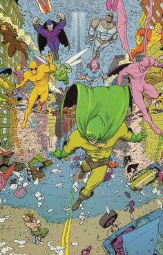 """Grant Morrison's Day-Glo Years: Flex Mentallo, Part 4: """"We are All UFOs"""" 