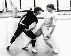 Mikhail Baryshnikov & Robert La Fosse