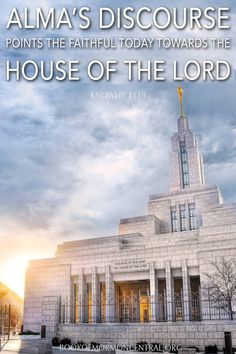 """""""The presentation of God's eternal plan by Alma and Amulek while preaching in Ammonihah includes elements that compare to known temple themes."""" -Thomas R. Book Of Mormon Stories, Lds Seminary, Lds Books, Lds Scriptures, Church Quotes, Religious Studies, Mormon Faith, Lds Mormon, Lds Church"""