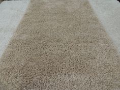 """Hand Knotted Shaggy Rug """"Bone"""" Size: 200 x 290cm"""