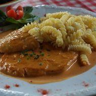 German Rahmschnitzel - In a Creamy Sauce Pork Tenderloin Recipes, Pork Recipes, Cooking Recipes, Healthy Recipes, How To Make Spaetzle, Veal Schnitzel, German Meat, Chicken Filet, Bratwurst