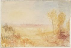 Joseph Mallord William Turner, 'Oxford from North Hinksey' c.1837-40
