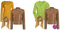 O výsledku nerozhodujú len farby, ale aj ich kombinácie - Supervizáž Red Leather, Leather Jacket, Ale, Fashion Beauty, Colour, Jackets, Studded Leather Jacket, Down Jackets, Leather Jackets