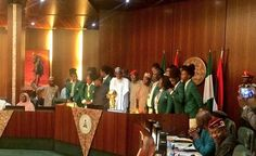 Buhari Receives New African Champions D'Tigress In Abuja