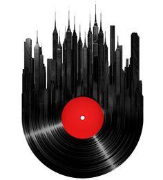 Streetwallz - Vinyl City Wall Decal, $72.61 (http://www.streetwallz.com/vinyl-city-wall-decal/)
