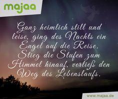 """Liebevolle Trauersprüche - """"Ein Engel"""""""