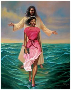 I am not afraid because He is with me, and promised never to leave nor forsake me.