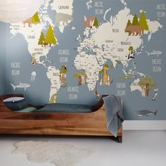 World map peel and stick poster sticker fabric posters fabrics papel pintado gumiabroncs Images