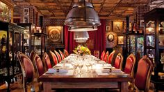 Faena Hotel Buenos Aires: El Mercado, one of the hotel's restaurants, is styled after a classic Buenos Aires cantina.