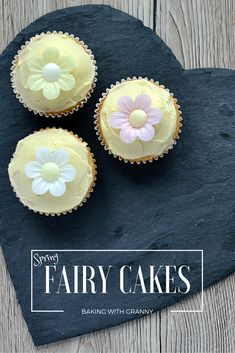 Fairy Cakes Recipe - Baking with Granny