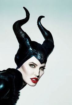 Maleficent Face.