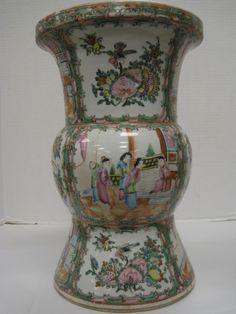 Antique Chinese Porcelain Vase, Asian Antique