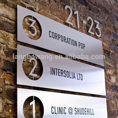 Airport/railway Station Wayfinding Sign By Sign Manufacturer ...