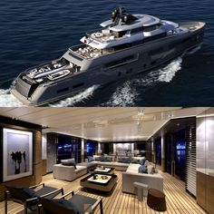 Teseo - 50m explorer concept by CRN Yachts and Zuccon International Project https://yachtemoceans.com/teseo-crn-expedition-yacht/