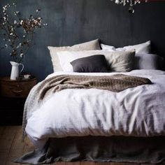 Vintage Washed Linen in White from Home Republic, Adairs