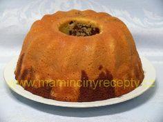 Bábovka se zakysanou smetanou Czech Recipes, Pavlova, Bagel, Muffin, Dessert Recipes, Food And Drink, Cooking Recipes, Bread, Breakfast