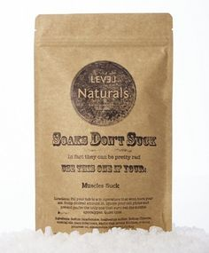 Level Naturals Soaks Don't Suck, Muscles Suck Review. Pin now, read later! #bath #review