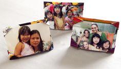 Passo a passo: faça um porta-retratos de tecido usando a técnica do origami - Casa e Decoração - UOL Mulher