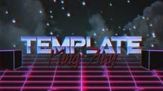 """80's VHS Intro/Visualizer   Free AE CS6 Template (The Simpsons """"LA-Z Rider"""" Official Titles)"""