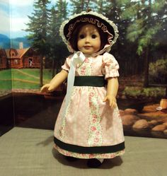 Historical 1800's dress for American girl also fits by craftymagaw, $32.50