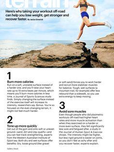Running on soft surfaces - SELF Magazine