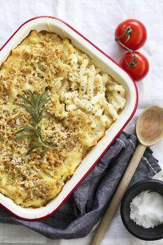 GF Mac n Cheese w/ cauliflower sauce