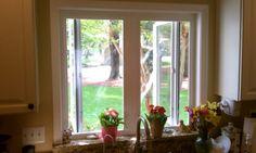 New kitchen casement window. Window Ledge, Casement Windows, Sunroom, Home Improvement, Vinyl Windows, Kitchen, Beautiful, Washington, Google Search