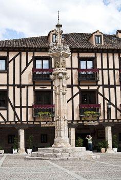Rollo (administración) en Peñaranda de Duero.Burgos Spain