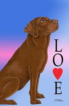 for car, caravan or house windows LABRADOR CHOCOLATE Dog Car Suction Sign
