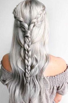 Simple and Crazy Ideas: Pixie Hairstyles Blonde funky hairstyles messy buns.Funky Hairstyles For Women braided hairstyles with curls.Women Hairstyles Medium New Looks. Cool Braid Hairstyles, Bohemian Hairstyles, Feathered Hairstyles, African Hairstyles, Wedding Hairstyles, Shag Hairstyles, Updos Hairstyle, Wedge Hairstyles, Bouffant Hairstyles