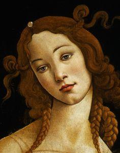 Venus (detail), oil on canvas transferred from wood panel |Galleria Sabauda, Turin, lnv. 172