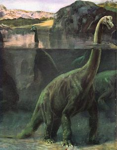 Love in the Time of Chasmosaurs: Vintage Dinosaur Art: Life before Man - Part 1