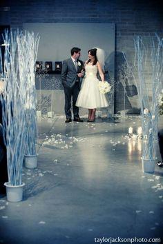 Beautiful Winter wedding