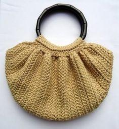 fat bottom bag crochet pattern free – Knitting Tips Free Crochet Bag, Crochet Purse Patterns, Crochet Shell Stitch, Crochet Tote, Crochet Handbags, Crochet Purses, Knit Or Crochet, Crochet Crafts, Crochet Hooks