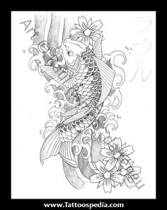 Japanese%20Koi%20Fish%20Tattoo%20Designs%20Gallery%201 Japanese Koi Fish Tattoo Designs Gallery