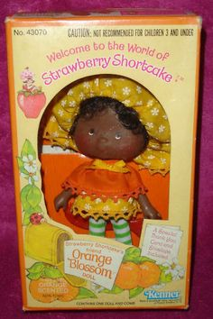 Vintage Kenner Strawberry Shortcake Orange Blossom Doll