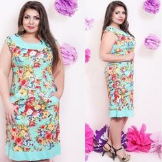2015 MINI summer party dress Straight plus size dresses for women party printed sleeveless knee high cotton xl 3xl 4xl 5xl
