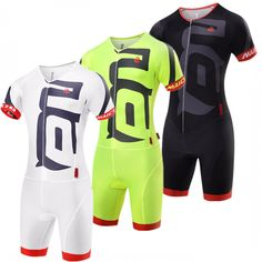 524cee354 Pro Team Triathlon Suit Men Cycling Clothing Skinsuit Jumpsuit Maillot  Cycling Jersey Sets Ropa Ciclismo Bike