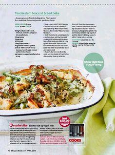 ... (BBC Good Food), 29 Mar 2018 Page 40 Bbc Good Food Recipes, Bread Baking, Magazine, Cooking, Easy, Bait, Baking, Kitchen, Magazines