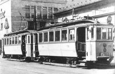1960 Budapest streetcars.