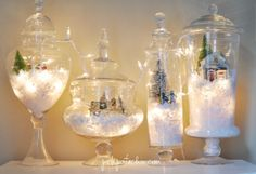 battery operated christmas village lights - Google Search