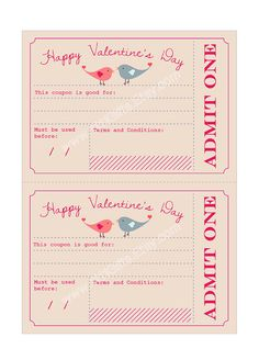 Last Minute Valentine's Day Printable Gift Voucher for Him and Her! Printable Vouchers, Gift Vouchers, Printable Coupons, Printables, Valentines Diy, Valentine Day Gifts, Romantic Gifts For Him, Love Coupons, Coupon Template