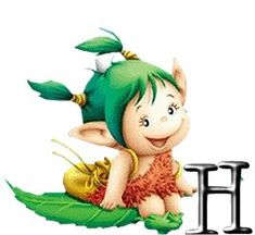 Alfabeto de lindos duendes traviesos.   Oh my Alfabetos! Cute Alphabet, Alphabet For Kids, Christian Cartoons, Abc For Kids, Cool Art Drawings, Cute Clipart, Fantasy Images, Mythological Creatures, Leprechaun