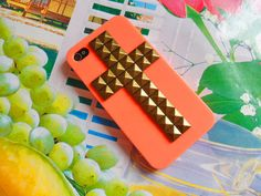 studded phone case.