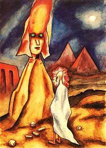 Alma Dás Pirámides - Xul Solar